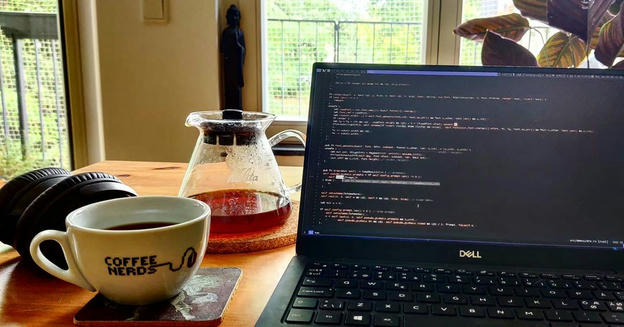 Photo shared by Coffee'n'Code on August 24, 2020 tagging @c3coffeenerds, @comment_sense, @dripster_gram, @codeclique, @_whatthetech, @_devcommunity, and @kalita.wave.