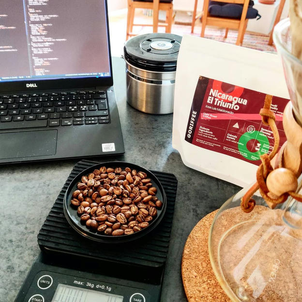 Photo shared by Coffee'n'Code on September 01, 2020 tagging @the_chemex, @goriffee, @comment_sense, @coffeegator, @code.community, @lovecoders, @codeclique, and @_devcommunity. May be an image of 1 person.
