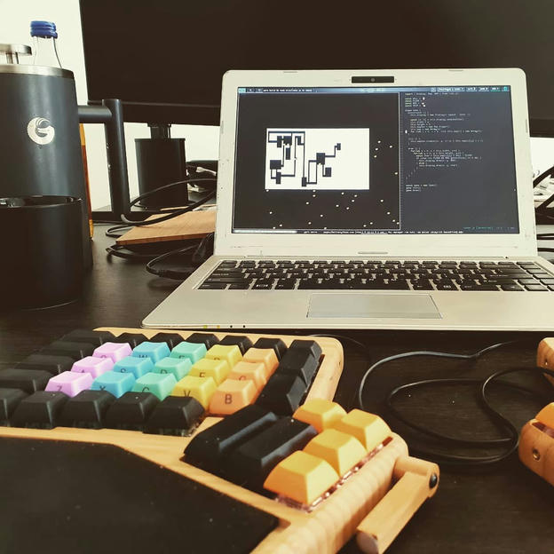 Photo shared by Coffee'n'Code on October 10, 2019 tagging @coding, @system76_com, @comment_sense, @coffeegator, @falba.tech, @coderlifes, @codingdays, @codeclique, and @papillonformen.al.