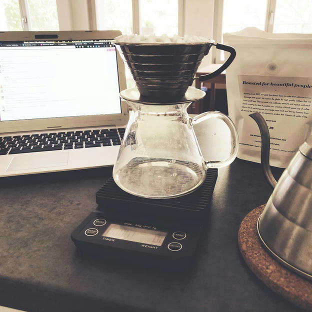 Photo shared by Coffee'n'Code on August 27, 2019 tagging @19grams.coffee, @manualbrewonly, @coffee, @coderlifes, @codingdays, and @codeclique.