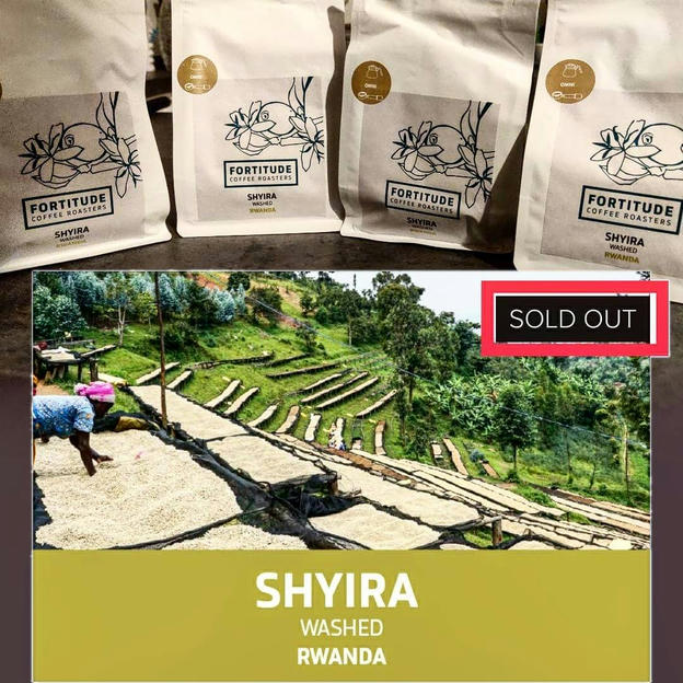 Photo shared by Coffee'n'Code on December 17, 2019 tagging @fortitudecoffee, @third_wave_coffee, @manualbrewonly, and @thirdwavecoffeeindia. May be an image of text that says 'FORTITUDE SHYIRA FORTITUDE FOPRT TUDE COFFEE FORT OASTER ITUDE SHYIRA SHYIRA SOLD OUT SHYIRA WASHED RWANDA'.